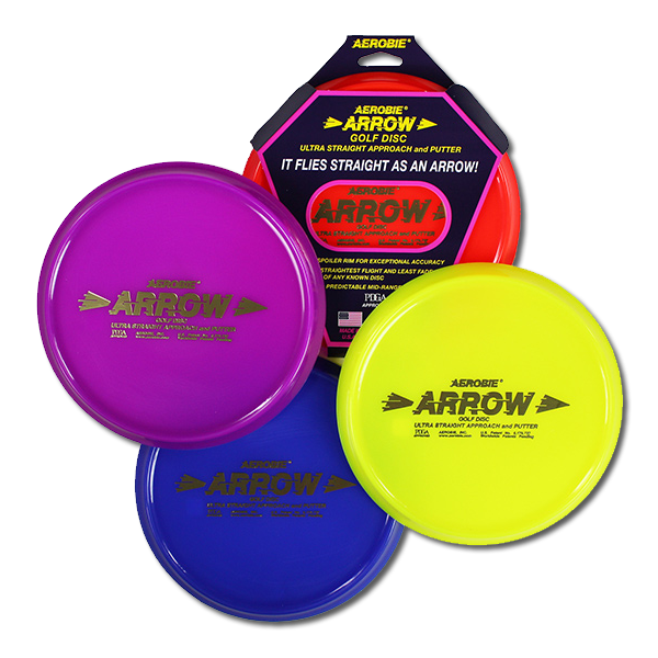 Aerobie® Arrow Approach & Putter golf disc_1