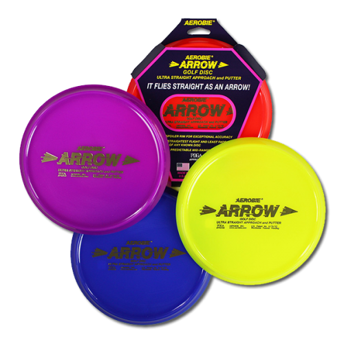 Aerobie® Arrow Approach & Putter golf disc